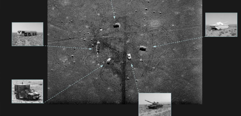 inflatable military tactical decoys radar signatures